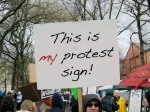 My Protest Sign