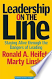 Leadership on the Line By Ronald Heifetz & Marty Linsky